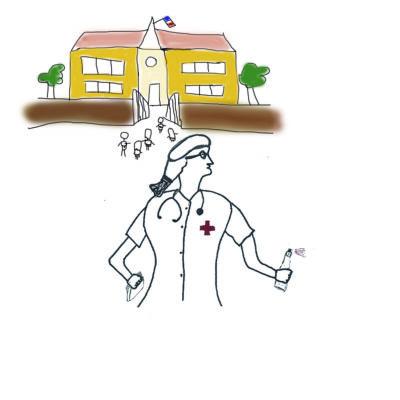 Infirmière scolaire